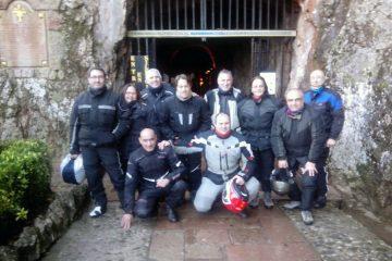 Entrada a la cueva Covadonga