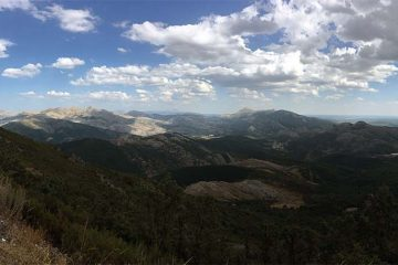 Vista panorámica desde la Camperona